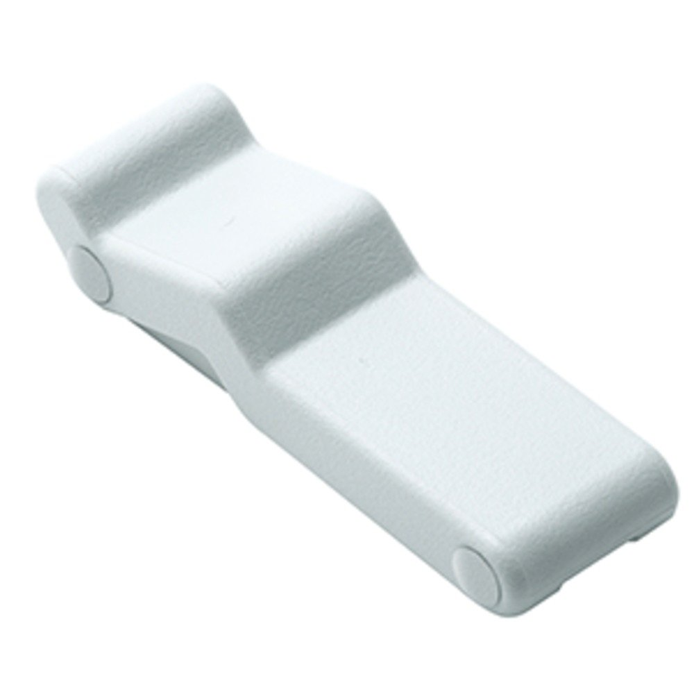 Southco Concealed Soft Draw Latch w/Keeper - White Rubber