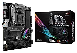 ASUS ROG STRIX B350-F GAMING AMD Ryzen AM4 DDR4 HDMI DisplayPort M.2 USB 3.1 ATX B350 Motherboard