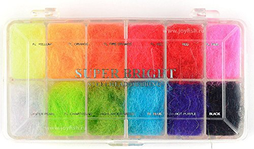 Wapsi Fly Tying Dubbing Dispenser, Super Bright Steelhead - Fly Tying Wapsi