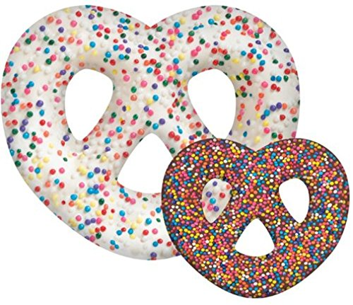Pretzel Shape (iscream Snack Shack Chocolate Pretzel Shape Double-Color 20
