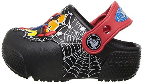 a049ccc0c28748 crocs Boys  Crocsfunlab Lights Spiderman Clog
