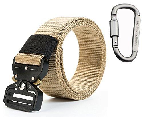 junsong6637Tactical Policía Militar Riggers cinturón de batalla Men- Cumplimiento de la ley Gear SWAT cinturón Heavy...