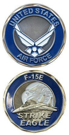 F-15e Eagle (U.S. Air Force F-15E Strike Eagle Challenge Coin)