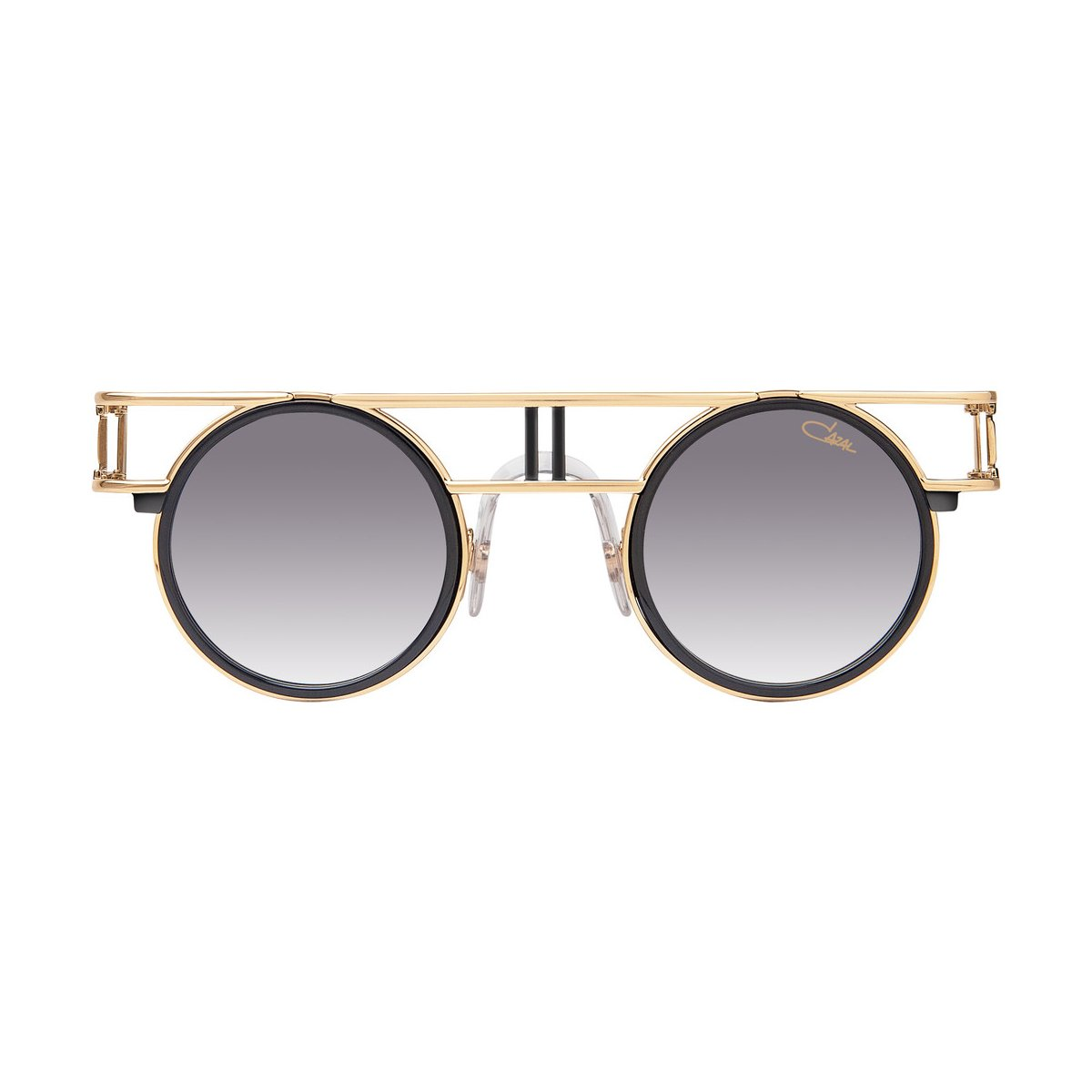 Amazon.com: Gafas de sol Cazal Legends 668 001 negro oro ...