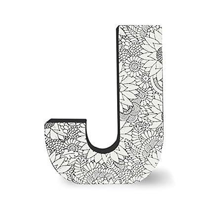 Amazon Com Colorjoy Dci Alphabet Letter Block Letter J Wall
