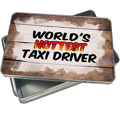 Cookie Jar Taxi - NEONBLOND Cookie Box Worlds hottest Taxi Driver Christmas Metal Container