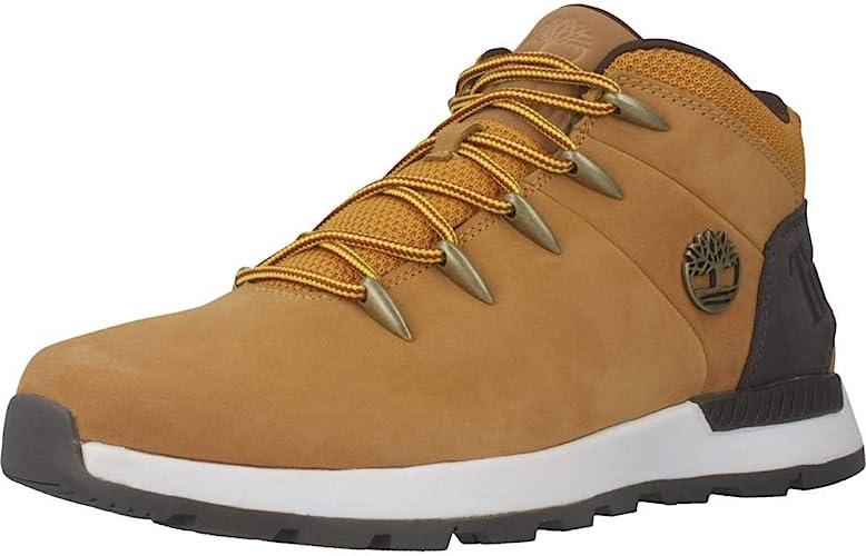 Ventilación pacífico burbuja  Timberland Men's Euro Sprint Trekker Mid Leather Boots, Brown, 11 UK: Amazon.co.uk:  Shoes & Bags