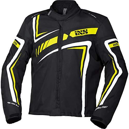 IXS Motorradjacke mit Protektoren Motorrad Jacke RS-400-ST 2.0 Sport Textiljacke, Herren, Sportler, Ganzjährig…