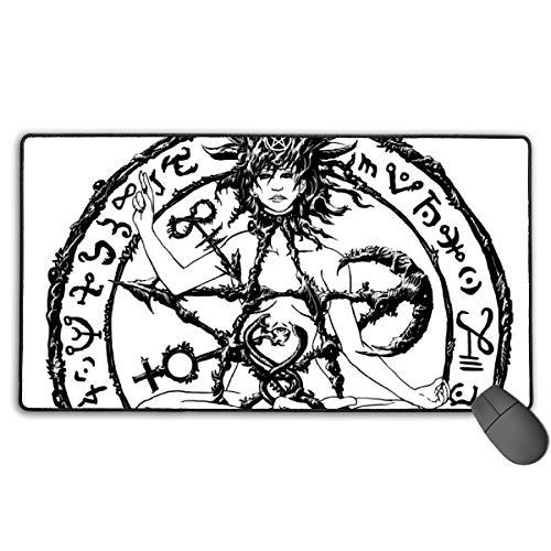 GGlooking Gaming Mouse Mat Symbol Large Computer Pad