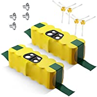 Powerextra 3800mAh Roomba Battery for Irobot Roomba 500 510 530 532 535 540 545 550 552 560 562 570 580 581 582 585 595 600 620 630 650 660 700 760 770 780 790 800 870 880 R3 80501(2 pack)