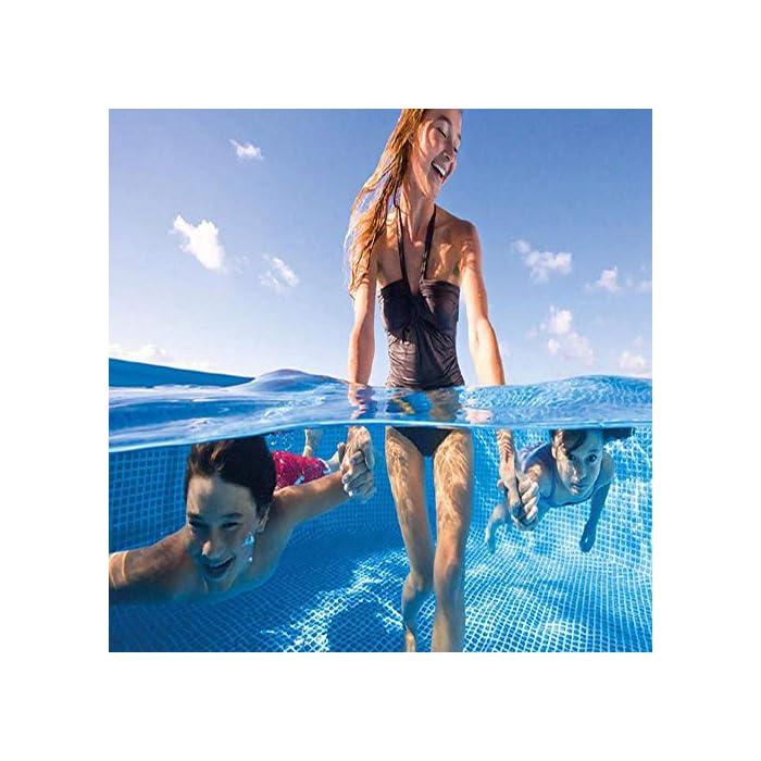 51tl4Frq1 L ★ PVC MATERIAL: buena dureza, alta resistencia, ninguna salida, no es fácil de daños, larga vida de servicio. ★ INFLABLE PISCINA: Gran diversión en la fiesta en la piscina. Diseñado hermosa que atrae a todo el mundo. Disfrute de sus vacaciones con sus socios a un gran precio. Todas nuestras piscinas inflables se construyen para la comodidad y construido para durar. ★ PERFECTO TAMAÑO: perfecto para los niños y toda la familia. El diseño ligero e inflables son portátiles, ideales para mantener a su bebé en las piscinas, bañeras de hidromasaje, lagos, océanos y más.El golpeó de fiestas en la piscina. El mejor regalo de cumpleaños, regalo del verano, piscina de parto para el parto en el hogar.