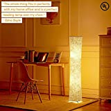 Ipowerbingo Natural Fabric Originality Floor lamp Softlighting Home Minimalism Create Romantic Atmosphere Christmas