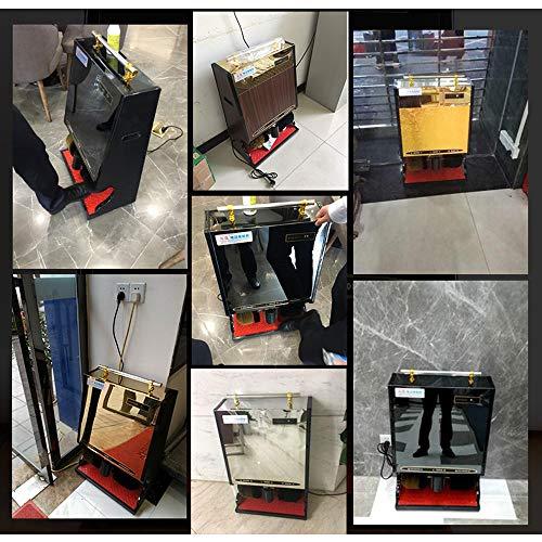 Qi Peng Shoe Polisher-Automatic Induction Shoe Polisher, Household Electric Shoe Polisher/Hotel Business Shoe Polisher Automatic Shoe Polisher (Color : G, Size : 1#) by Qi Peng-/Automatic shoe polisher (Image #6)