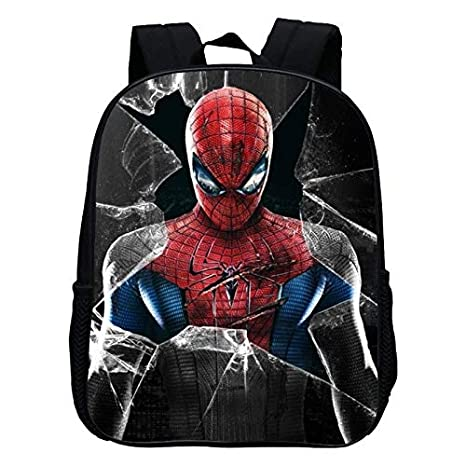 Mochila Escolar de 12 Pulgadas con Estampado Cool Hero Spiderman para niños de 12 Pulgadas: Amazon.es: Equipaje