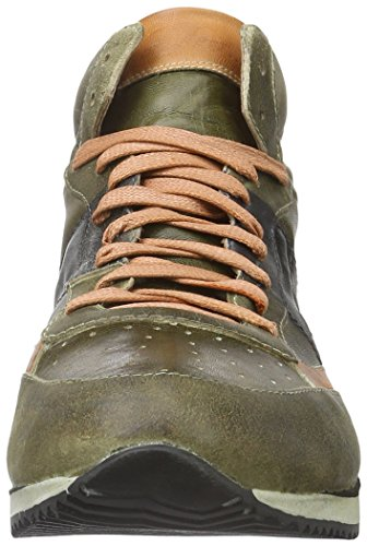 We are Action-Bosco-Arancio, Sneaker Alte Uomo Verde (Grün (Bosco-arancio))
