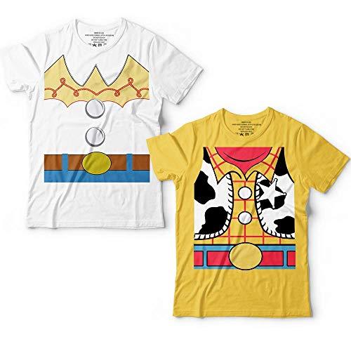 Jessie And Woody Couple Toy Shirt Halloween Costume Matching Funny Story Customized Handmade T-Shirt Hoodie_Long Sleeve_Tank Top_Sweatshirt ()