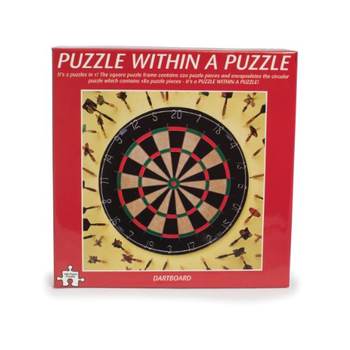 Funtime Gifts Puzzle Within Puzzle Darts (Best Jigsaw Puzzle App For Mac)
