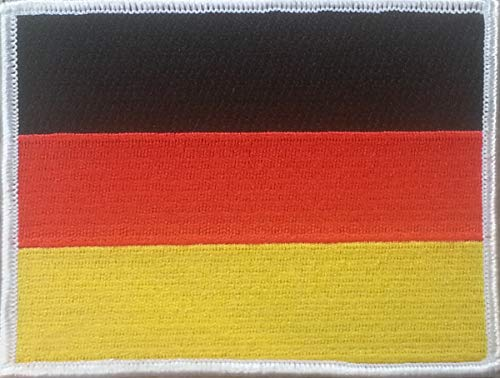 german flag embroidered patch approx