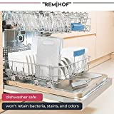 REMIHOF Plastic Cutting Board Set for Kitchen