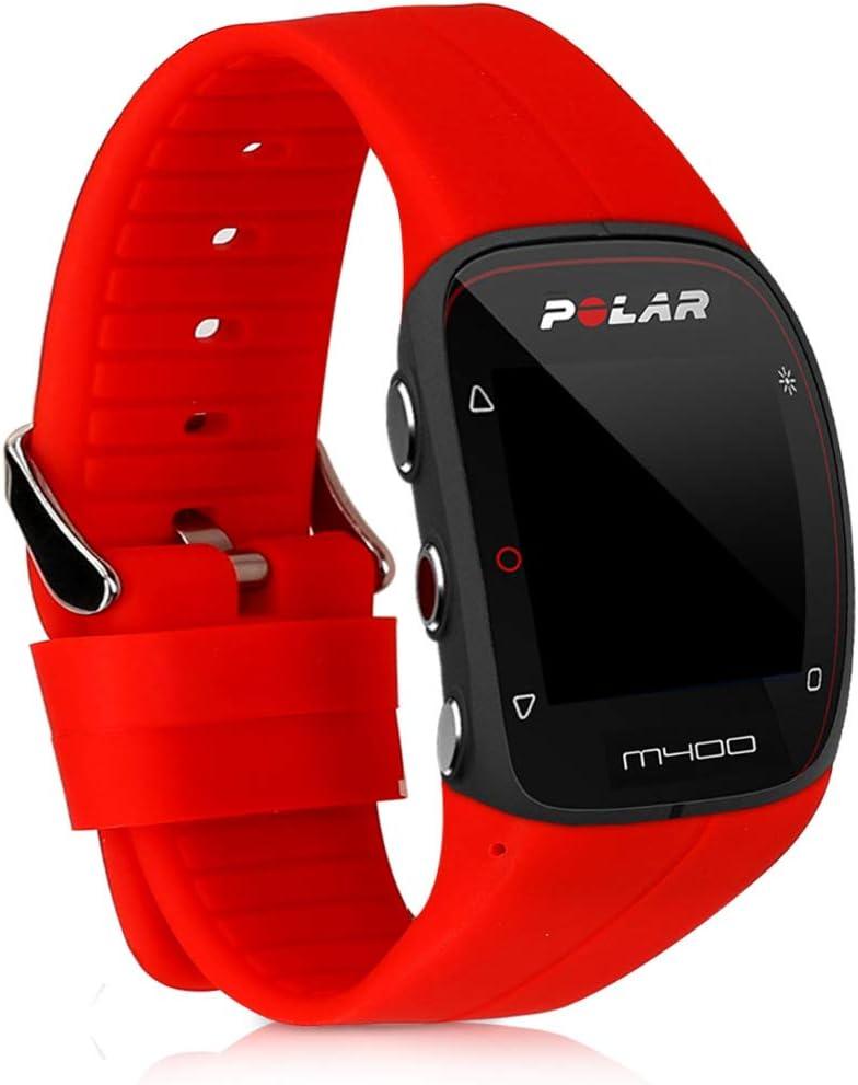 M430 kwmobile Bracelet Polar M400 Bracelet de Rechange en Silicone pour Fitness Tracker Polar M400 M430