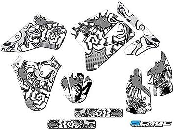 2001-2004 RM 85 Compatible with Suzuki. Apache Green Base Graphics Kit Senge Graphics