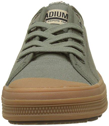 Verde Night Mid Olive Palladium Sneaker Gum L86 Sub Uomo Low Canvas TPTwXR