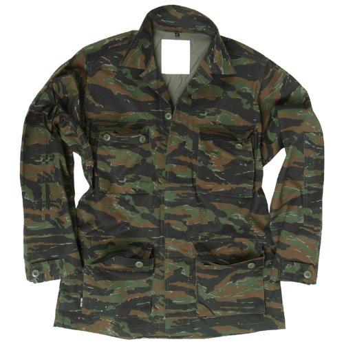 Mil-Tec BDU Combat Shirt Tiger Stripe size XL (Jacket Stripe Bdu Tiger)