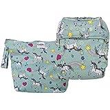 GroVia Cloth Diaper and Wetbag Purrrrfect Combo (O.N.E. Diaper)