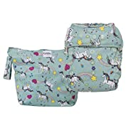 GroVia Cloth Diaper and Wetbag Purrrrfect Combo (O.N.E. Diaper)