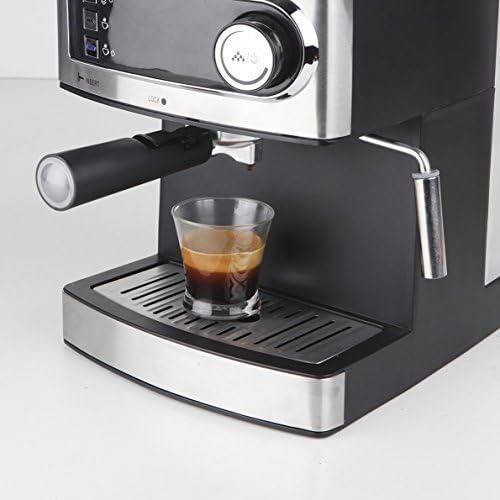 Orbegozo EX 3000 Cafetera para espresso y cappuccino, Acero ...