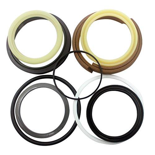707-99-58080 2PCS Boom Hydraulic Cylinder Repair Seal Kit - SINOCMP Service Seal Kits for Komatsu PC350-7 PC350LC-7 Excavator Parts, 3 Month Warranty: