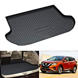 Nissan Murano All-Weather Mats - Powerty Trunk Mat All Weather TPO Rear Cargo Liner for Nissan Murano 2015 2016 2017 2018 2019 2020