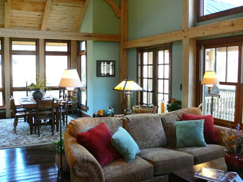 Price comparison product image Timber Frame Home Plan - The Creekside CAD File