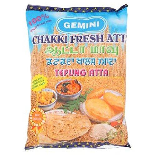 Gemini Chakki Fresh Atta 900g (628MART) (3 Packs) by GeminiJets (Image #1)