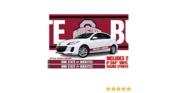 Ohio State Buckeyes Vinyl Auto Stripes
