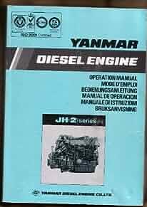 yanmar diesel engine operation manual jh 2  series yanmar yanmar diesel engine manual pdf yanmar diesel engine manual