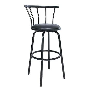 Wondrous Amazon Com 3600 Swivel Metal Frame Barstools With Back Forskolin Free Trial Chair Design Images Forskolin Free Trialorg