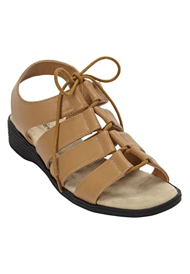 Comfortview Plus Size Everly Sling Sandal