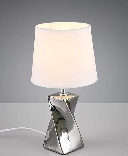 Comodino Lampade Camera Da Letto Design.Lampada Da Comodino Design Moderna Abat Jour Lumetto Ceramica
