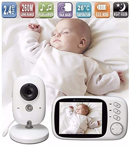 Lullaby Bay - Wireless Video Baby Monitor with Digital Camera. Anti-Hack...