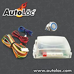 AutoLoc Power Accessories 89745 Blue One Touch Engine Start Kit