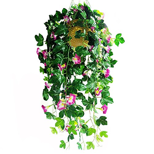 Outdoor Lighted Hanging Baskets - 6