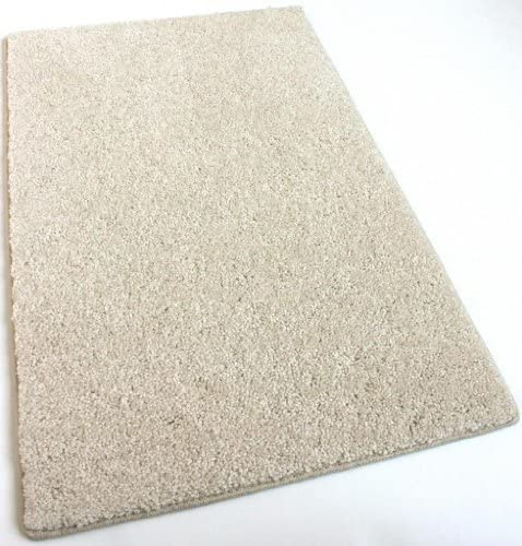 Koeckritz 2 x3 Cream Area Rug Carpet. Multiple Sizes, Shapes and Rich Cream Tone. Soft and Plush 25 oz. StainMaster. Long wear Soft Nylon Fiber. Medium Density. Thickness 1 2