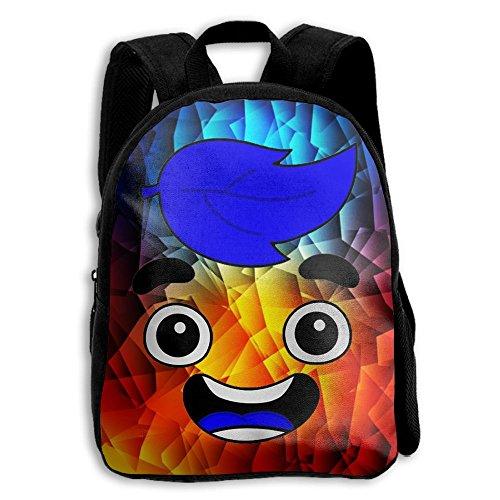 CMJJJR4 Guava-Juice 3D Kids Customized Backpack School Bags ()