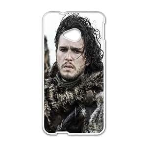 Jon Snow Of House Stark HTC One M7 Cell Phone Case White DIY present pjz003_6459166