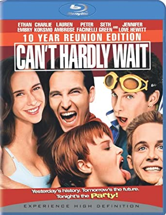 Can't Hardly Wait Amazoncom Cant Hardly Wait 10 Year Reunion Edition Bluray
