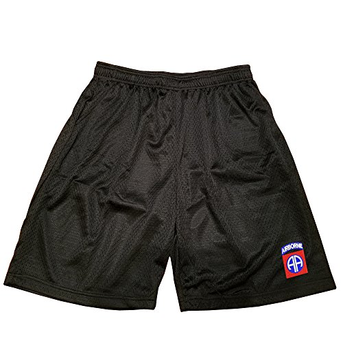 82nd Airborne Military Athletic Jersey Mesh Basketball Shorts ()