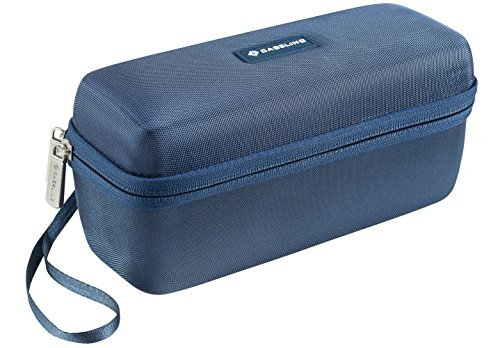 Caseling Hard Case Travel Bag for Bose Soundlink Mini Bluetooth Portable Wireless Speaker and Wall Charger and Charging Cradle. Fits with Bose Silicone Soft Cover.