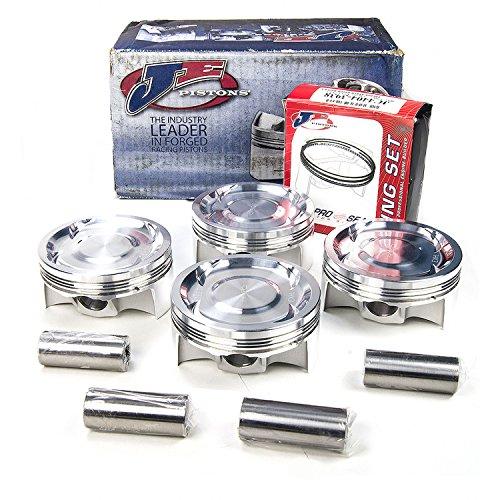 Je Piston Set (JE Pistons 296349 SUB WRXHED/STI+10KIT Set of 4 Pistons)