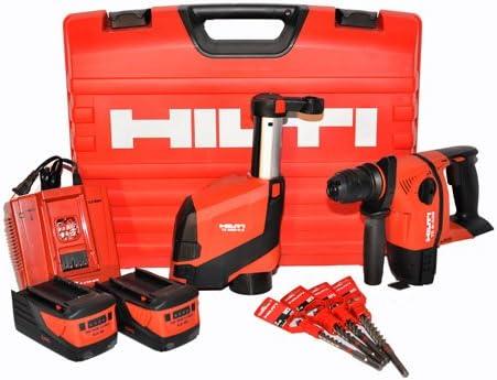 HILTI 0347009TE 6-A36-AVR DRS martillo perforador inalámbrico taladro 36Volt